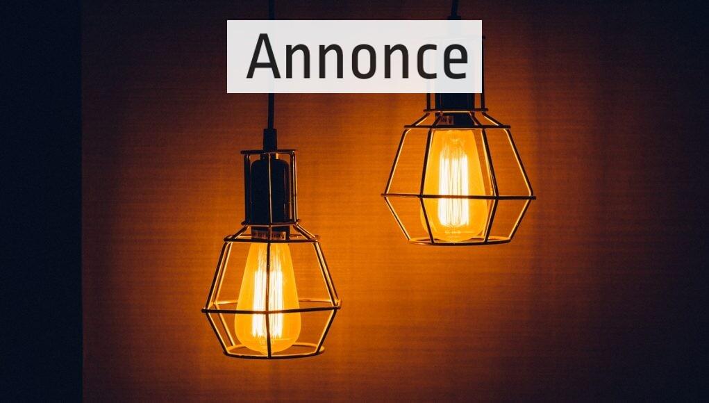 Lampe stofledning
